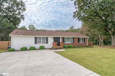 Anderson SC Single Family Home For Sale: $119,999
