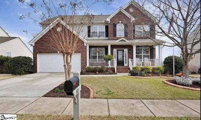 Simpsonville SC Single Family Home For Sale: $320,000
