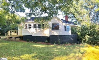 Greenville SC Single Family Home For Sale: $209,500