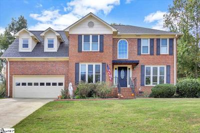 Simpsonville Single Family Home For Sale: 203 Picton Place