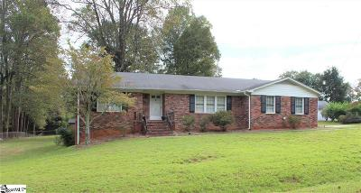 Greenville SC Single Family Home For Sale: $214,900