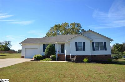 Spartanburg Single Family Home For Sale: 3422 Stone Station