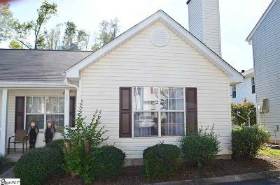Greenville County Condo/Townhouse For Sale: 11 Allenwood