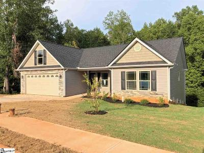 Boiling Springs Single Family Home For Sale: 560 Marchbanks #Lot 251
