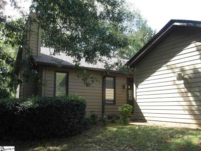 Greenville County Condo/Townhouse For Sale: 422 Sparrow Hawk