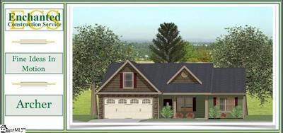 Boiling Springs Single Family Home For Sale: 440 Shoreline Blvd #Lot 114