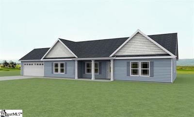 Boiling Springs Single Family Home For Sale: 714 Maya #Lot 163