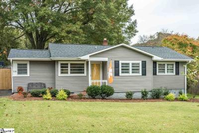 Greenville SC Single Family Home For Sale: $298,000