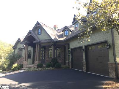 Travelers Rest Single Family Home For Sale: 631 Mountain Summit