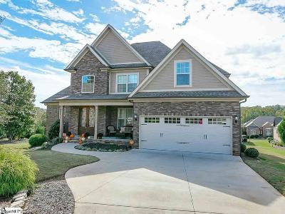 Inman Single Family Home For Sale: 412 Moteverde