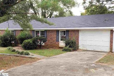 Mauldin Single Family Home For Sale: 114 Basswood