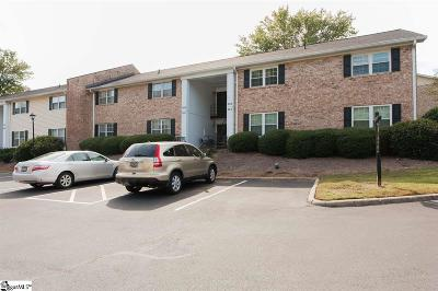 Greenville SC Condo/Townhouse For Sale: $191,000