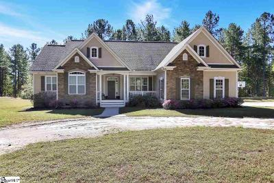 Travelers Rest Single Family Home For Sale: 8651 N Tigerville