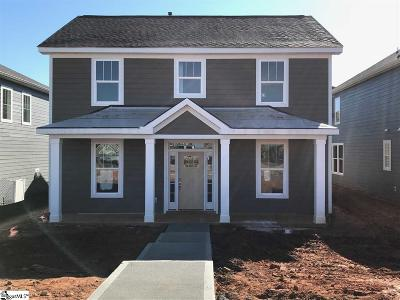 Spartanburg Single Family Home Contingency Contract: 711 Rose Penny