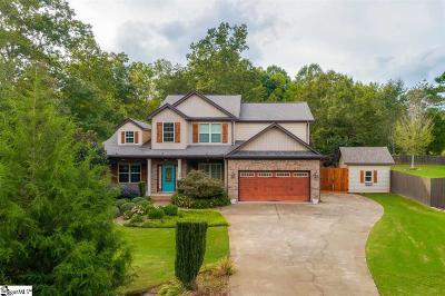 Greer Single Family Home For Sale: 508 Mellow