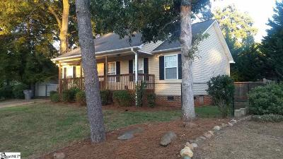 Greenville Single Family Home For Sale: 302 Brockman