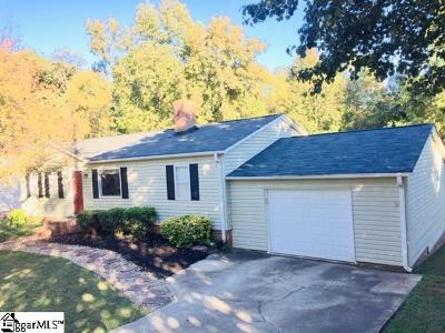 Greenville Single Family Home For Sale: 4 Parkstone