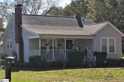 Greenville Single Family Home For Sale: 1 Rainbow