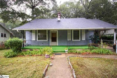 Greenville Single Family Home Contingency Contract: 19 Birnie Street