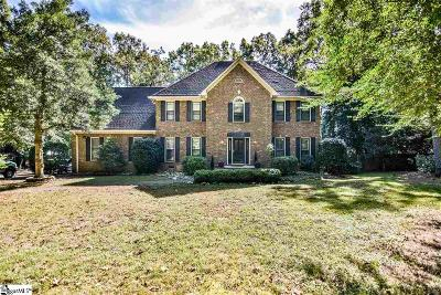 Simpsonville Single Family Home For Sale: 204 Shadowood