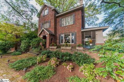 Greenville County Single Family Home For Sale: 207 E Park