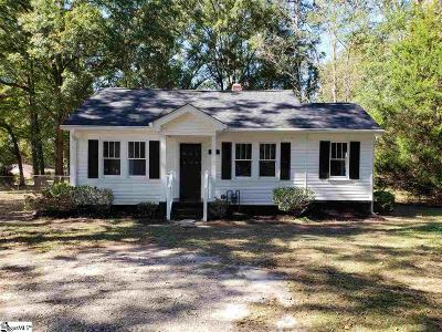 Simpsonville Single Family Home Contingency Contract: 110 Oakland