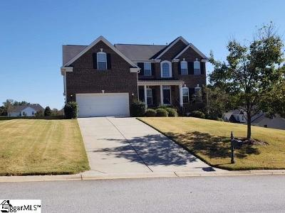Fountain Inn Single Family Home For Sale: 100 Hartwick