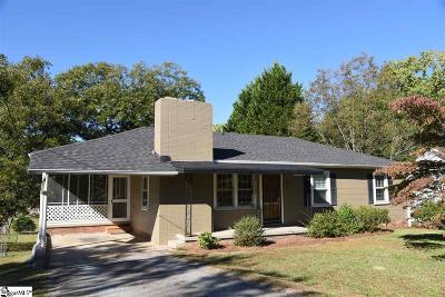 Greenville County Single Family Home For Sale: 111 Caldwell
