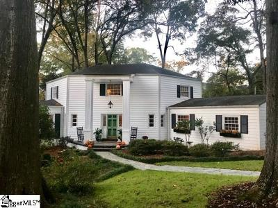 Greenville Single Family Home For Sale: 216 Pine Forest