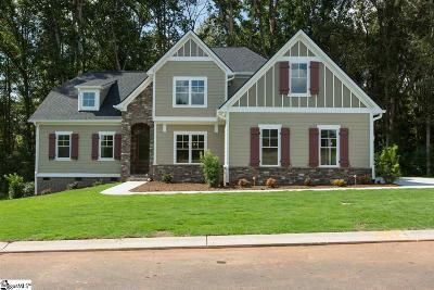 Simpsonville Single Family Home For Sale: 202 Braxton Meadow