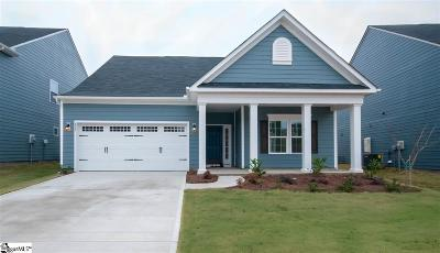 Simpsonville SC Single Family Home For Sale: $284,900