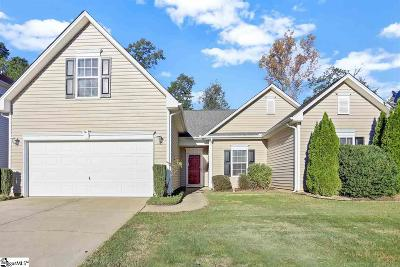 Simpsonville Single Family Home Contingency Contract: 319 Stillwater
