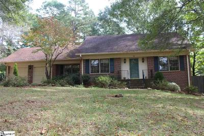 Mauldin Single Family Home For Sale: 2 Finley
