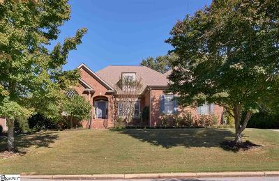 Simpsonville Single Family Home Contingency Contract: 321 Parkside