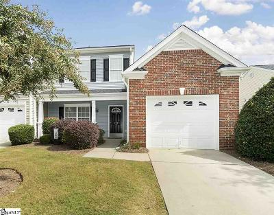 Greenville County Condo/Townhouse For Sale: 123 Pine Walk