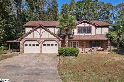 Mauldin Single Family Home For Sale: 106 Ashleybrook
