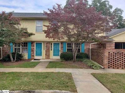 Greenville County Condo/Townhouse For Sale: 710 Hunts Bridge #Unit #46