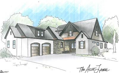 Simpsonville Single Family Home For Sale: 26 Meadow Reserve #Lot 23