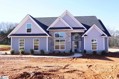Simpsonville Single Family Home For Sale: 15 Lakeway #Homesite