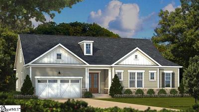 Greenville Single Family Home For Sale: 704 Carilion #Lot 242