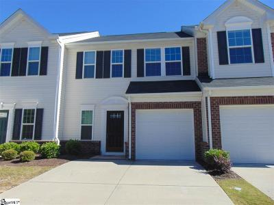Mauldin Condo/Townhouse For Sale: 433 Woodbark