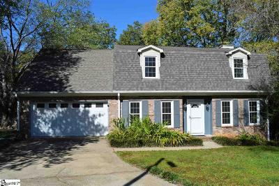 Greer Single Family Home For Sale: 306 Bloomfield
