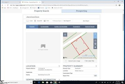 Campobello Residential Lots & Land Contingency Contract: 110 Kinder