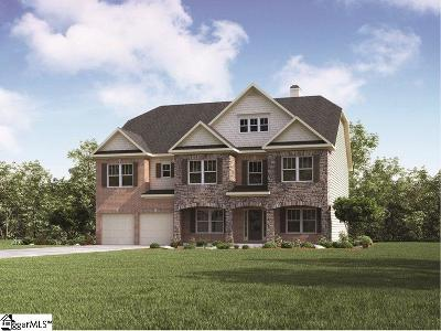 Simpsonville Single Family Home For Sale: 105 Strathaven