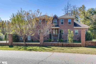 Simpsonville Single Family Home For Sale: 125 Kingswood