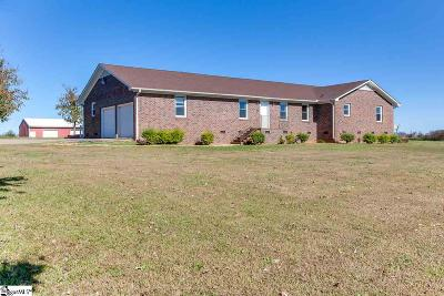 Greer Single Family Home For Sale: 201 Bernice Snow