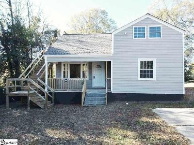 Spartanburg Single Family Home For Sale: 442 Magness