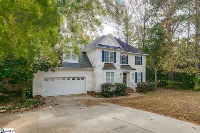 Simpsonville Single Family Home For Sale: 2 Netherland