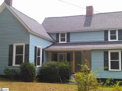 Pelzer Single Family Home Contingency Contract: 106 Old Georgia