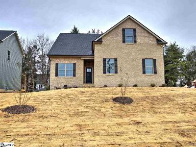 Greenville County Single Family Home For Sale: 133 Scalybark